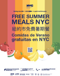 free nyc summer meals